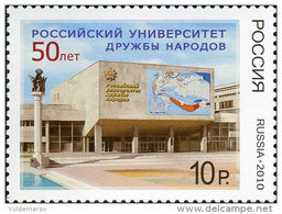 Russia 2010 Mih. 1624 Peoples' Friendship University Of Russia MNH ** - 1992-.... Fédération