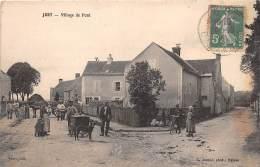 14 - CALVADOS / 141201 - Jort - Village De Pont - Beau Cliché Animé - Autres Communes