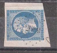 Empire N° 14 Obl Pc 2689 De RIXHEIM , Haut Rhin, Sur Fragment, TB - 1853-1860 Napoléon III