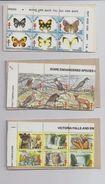 ZIMBABWE + RHODESIA 6 Booklets Stamps Tuberculose RAPT Christmas Seals - MNH - Zimbabwe (1980-...)