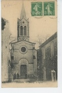 FONTANÈS - L'Église - France