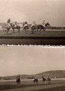 2 Photos Originales Sports De Prestige, Le Polo, Le Jeu Des Rois, Un Jeu Spectaculaire Où S'affrontent Deux équipes - Sports