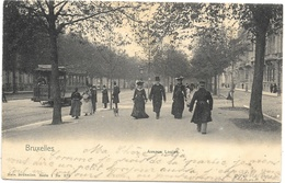 Bruxelles NA88: Avenue Louise ( Tramway ) 1905 - Vervoer (openbaar)