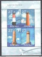 Poland 2006 - Lighthouses - Mi M/s 171 - Used - Blocchi E Foglietti
