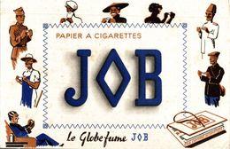 PAPIER A CIGARETTES JOB - Buvards, Protège-cahiers Illustrés