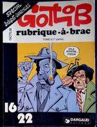 GOTLIB - Rubrique-à-brac - TOME 3 ( 1ère Partie ) - 16 / 22 - Dargaud N° 59 - ( 1979 ) . - Flash