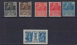 """FR YT 270 à 274 + 272a """" Exposition Coloniale De Paris """" 1930 Neuf* - France"""