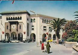 MAROC---RABAT---la Poste--( Voitures Jeep + Mercedes + Autres )---voir  2 Scans - Rabat