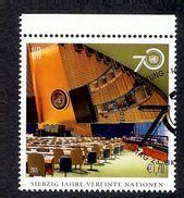 UNITED NATIONS VIENNE 2015 (o)  TIMBRE ISSU DE FEUILLET - Wien - Internationales Zentrum