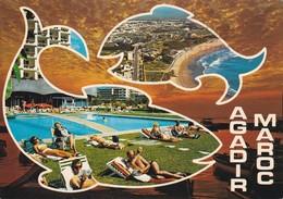 MAROC---AGADIR---multivues--voir  2 Scans - Agadir