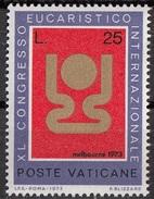 534 Vaticano 1973 Emblema Del Congresso Eucaristico  Nuovo MNH - Francobolli