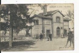Hermè  La Gare - Autres Communes