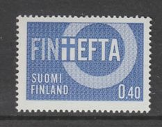 TIMBRE NEUF DE FINLANDE - ASSOCIATION EUROPEENNE DE LIBRE-ECHANGE N° Y&T 589 - Idées Européennes