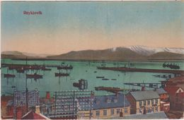LB  35 : Islande : Vue  Reykjavik - Iceland