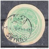 "(TPT) OTTOMAN POSTAL HISTORY POSTMARK """"""""SMYRNE"""""""" - 1837-1914 Smyrna"