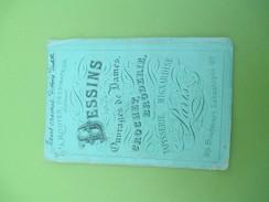 Fascicule/ Dessins Pour Ouvrages De Dames/Rouyer Dessinateur/Crochet, Broderie/Bd Sébastopol/Paris /Vers 1870-80   MER46 - Laces & Cloth