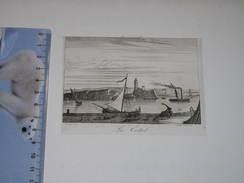 GRAVURE DE LA CIOTAT - CHAMOIN - Surface Imprimée De 7/10,5 Cm - Estampes & Gravures
