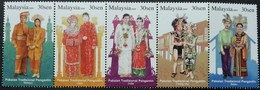 Malaysia 2009 S#1236 Traditional Wedding Costumes Booklet Stamp MNH Culture Costume - Malaysia (1964-...)