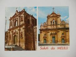 SIRACUSA - Saluti Da Melilli - Chiese Barocche - Chiesa Spirito Santo Chiesa San Sebastiano - Siracusa