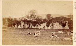 CDV, Lewes,Castle, Sussex, Edw. Reeves Photographer - Anciennes (Av. 1900)