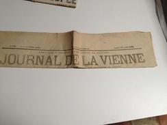 JOURNAL DE LA VIENNE, , Samedi 18 Juillet  1874, Quotidien - 1850 - 1899