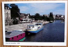 SERIE LE TRAMWAY A CHANGE NANTES QUAI DE VERSAILLES 1994 SCAN R/V - Tramways