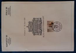 FOLDER CON ANNULLI SPECIALI NAPOSTA 89 GERMANIA (PG330 - FDC: Briefe