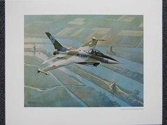 Photo AVION  F-16 FOR THE ROYAL NETHERLANDS AIR FORCE - Par Bob CUNNINGHAM         (4393) - Luchtvaart