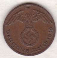 1 Reichspfennig 1940 F (STUTGART).  Bronze - [ 4] 1933-1945 : Tercer Reich