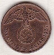 2 Reichspfennig 1937 A (BERLIN) .  Bronze - [ 4] 1933-1945 : Third Reich