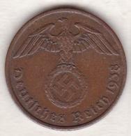 2 Reichspfennig 1938 A (BERLIN) .  Bronze - [ 4] 1933-1945 : Third Reich