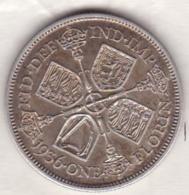 Grande Bretagne. One Florin 1936. George V ,en Argent , Superbe - 1902-1971 : Post-Victorian Coins