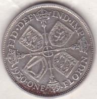 Grande Bretagne. One Florin 1930. George V ,en Argent - J. 1 Florin / 2 Shillings