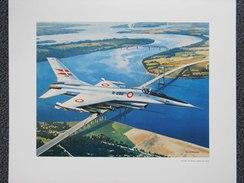 Photo AVION  F-16 FOR THE ROYAL DANISH AIR FORCE - Par Bob CUNNINGHAM - Danemark   (4395) - Aviation