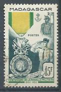 Madagascar YT N°321 Médaille Militaire Oblitéré ° - Madagascar (1889-1960)