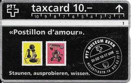 Schweiz: PTT P22 211C PTT Museum Bern - Timbres & Monnaies