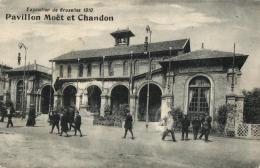 BELGIQUE - BRUXELLES - Exposition De 1910 - Pavillon Moët Et Chandon. - Expositions