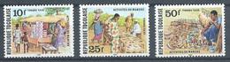 Togo Timbres-taxe YT N°75-76-77 Activités Du Marché Neuf ** - Togo (1960-...)
