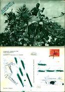 6832a)cartolina Viareggio Carnevale 1956 Corso Mascherato -l'ulisseide Ed.omniafoto - Viareggio
