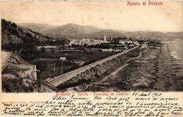 CPA Borghetto S.Spirito-Panorama Da Ponente . ITALY (497456) - Italy