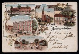 AK/CP Litho Weissenhöhe  Bialosliwe  Bialosliwie  Wirsitz  Posen Poznan    Gel./circ. 1907    Erh./Cond.  3   Nr. 00043 - Posen