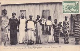 CPA CONGO BRAZZAVILLE Tam-Tam Des Congolaises Noir Nègre Négritude - Brazzaville