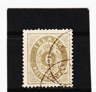 MAG1186  ISLAND 1876  Michl 7 A Used / Gestempelt Siehe ABBILDUNG - 1873-1918 Dänische Abhängigkeit
