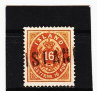 MAG1188  ISLAND 1876  Michl 9 A Used / Gestempelt  Siehe ABBILDUNG - Gebraucht