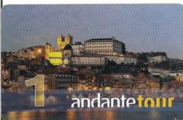 TARJETA ANDANTE TOUR - Tarjetas Telefónicas