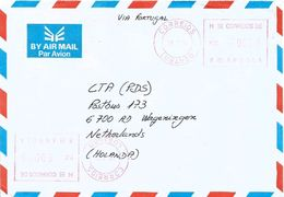 Angola 2004 Lubango Meter Franking Hasler Mailmaster H-8 Cover - Angola
