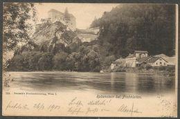 Rabenstein Bei Frohnleiten. Karte Aus 1901, Nach Wien. - Frohnleiten