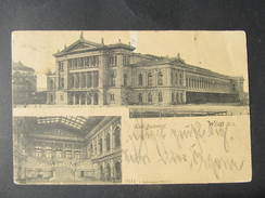 AK WIEN Bahnhof Südbahnhof 1907 /// D*26865 - Wien