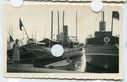 N° 2 Port De Cannes Situé Bateau 1935 Cf Dos RARE 06150 Provence  Cote D'azur Yacht Vanikoro - Lieux