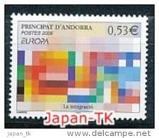 "ANDORRA (franz. Post ) Mi.Nr. 648  EUROPA CEPT ""Integration"" 2006 - MNH - Europa-CEPT"
